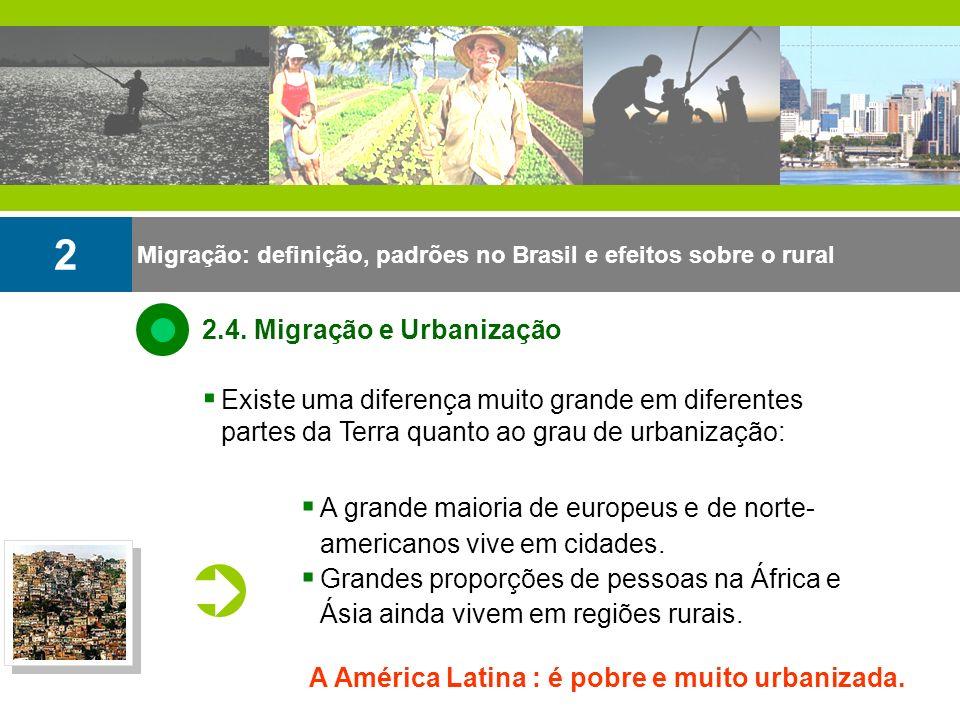 2 2.4. Migração e Urbanização