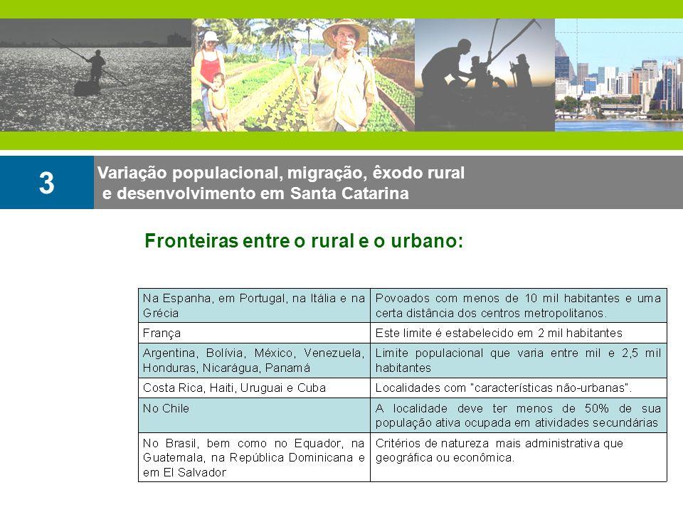3 Fronteiras entre o rural e o urbano: