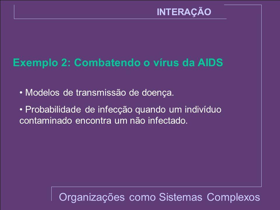 Exemplo 2: Combatendo o vírus da AIDS