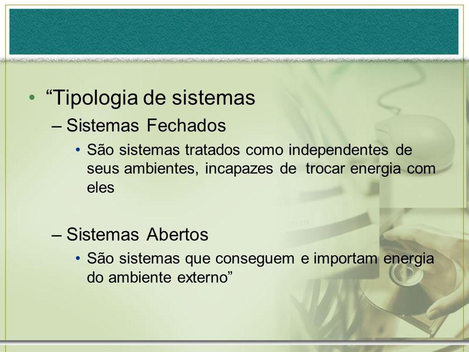Tipologia de sistemas