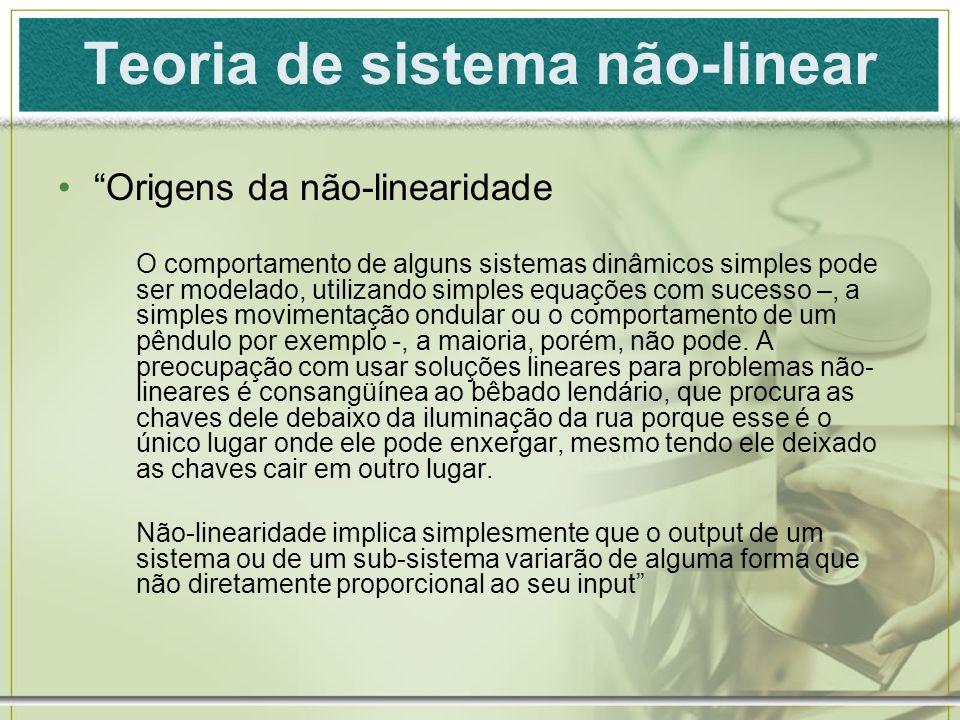 Teoria de sistema não-linear