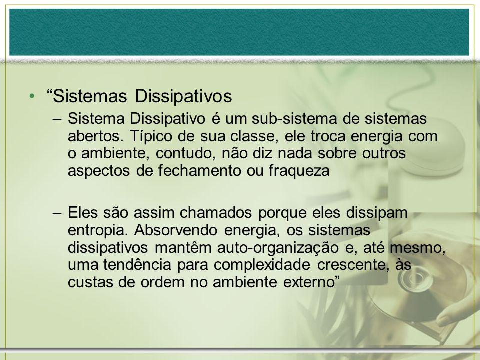 Sistemas Dissipativos