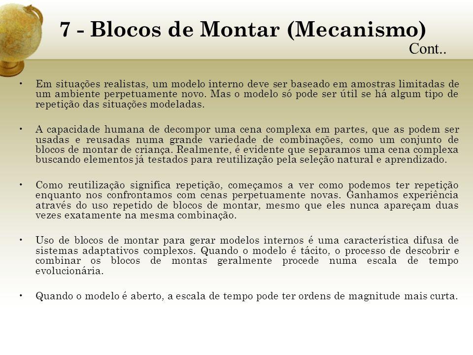 7 - Blocos de Montar (Mecanismo)