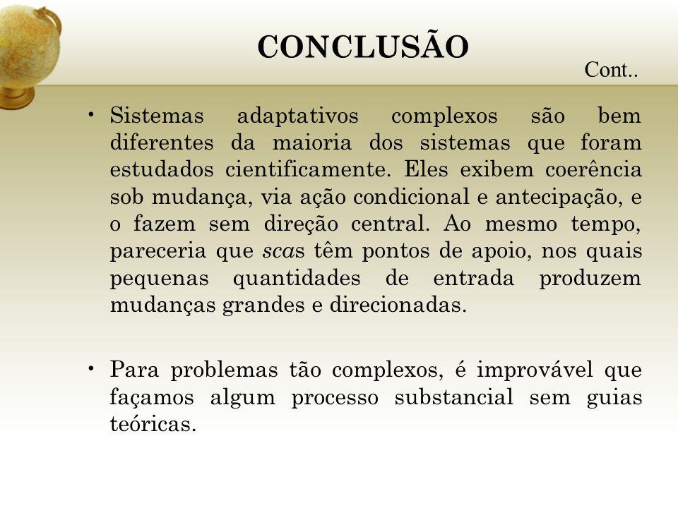CONCLUSÃOCont..
