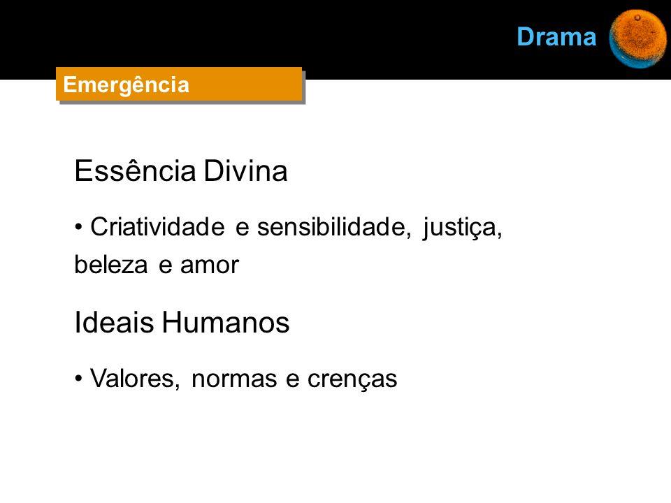 Essência Divina Ideais Humanos Drama