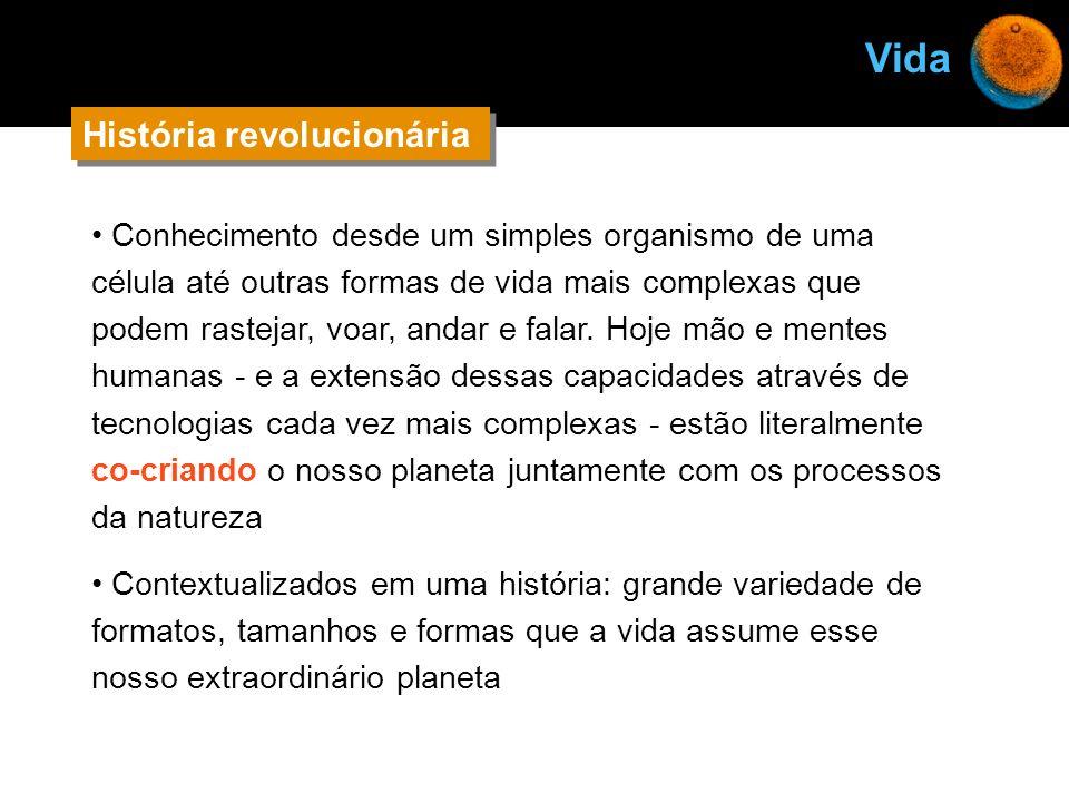 Vida História revolucionária