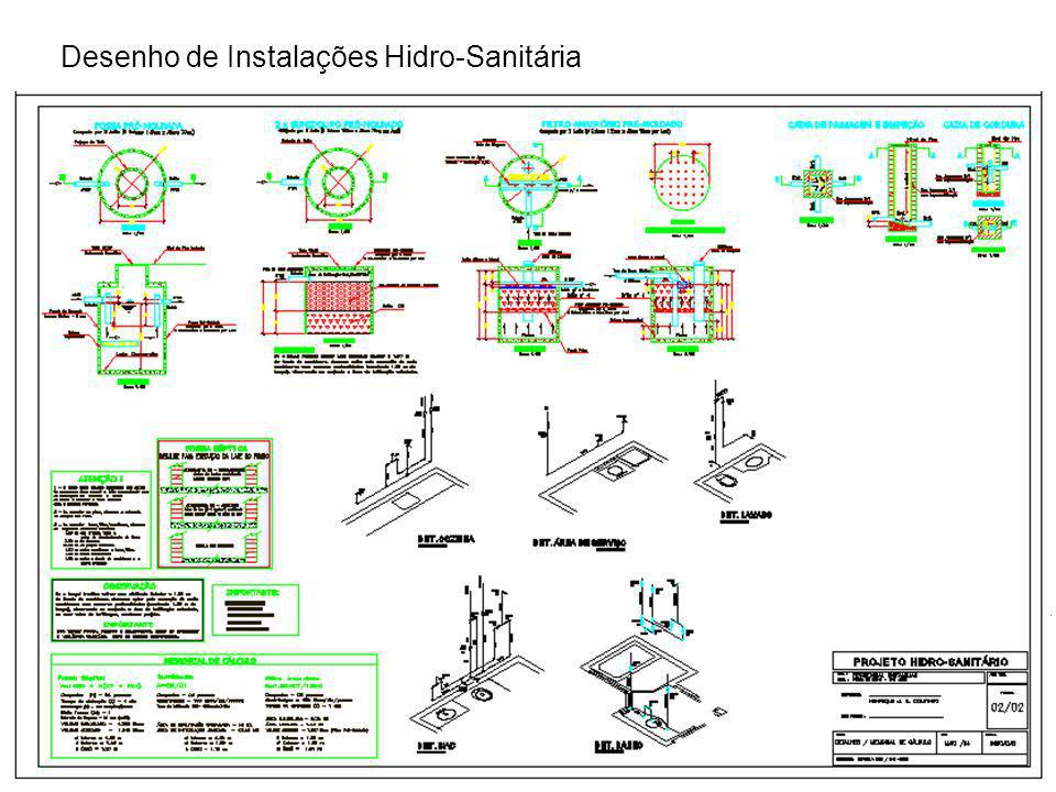 Desenho de Instalações Hidro-Sanitária