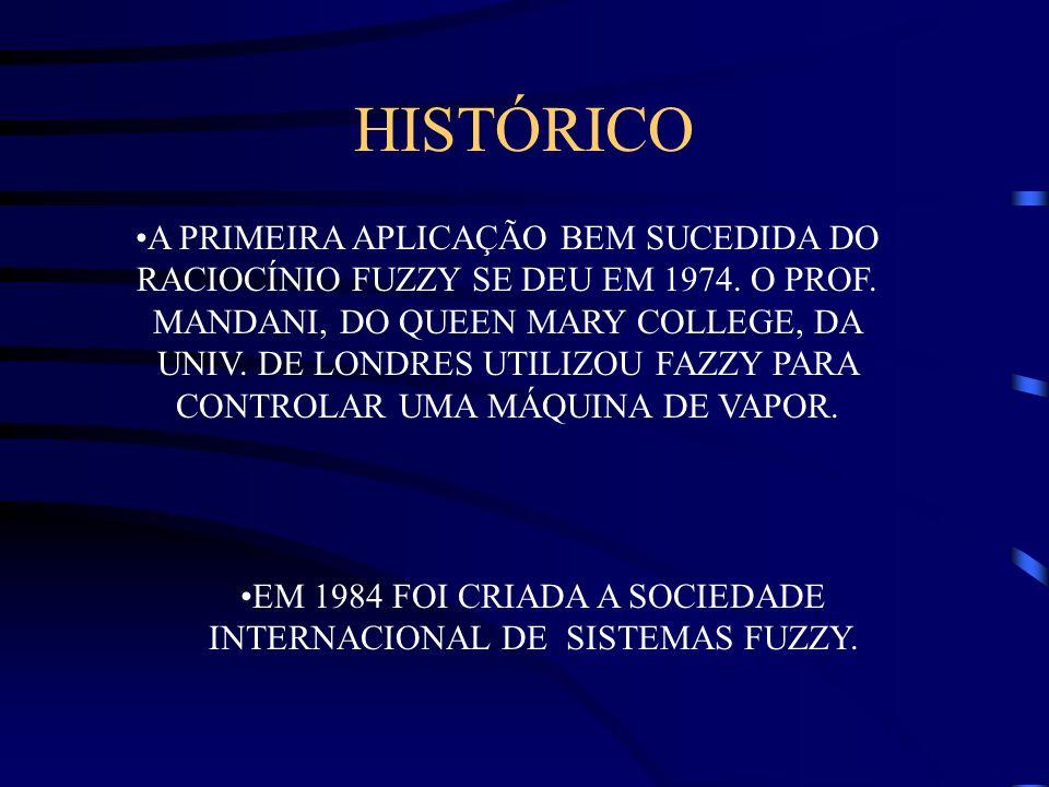 EM 1984 FOI CRIADA A SOCIEDADE INTERNACIONAL DE SISTEMAS FUZZY.