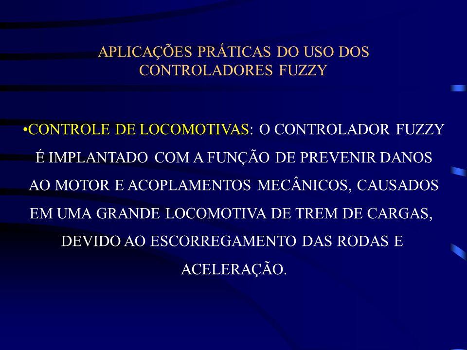 APLICAÇÕES PRÁTICAS DO USO DOS CONTROLADORES FUZZY