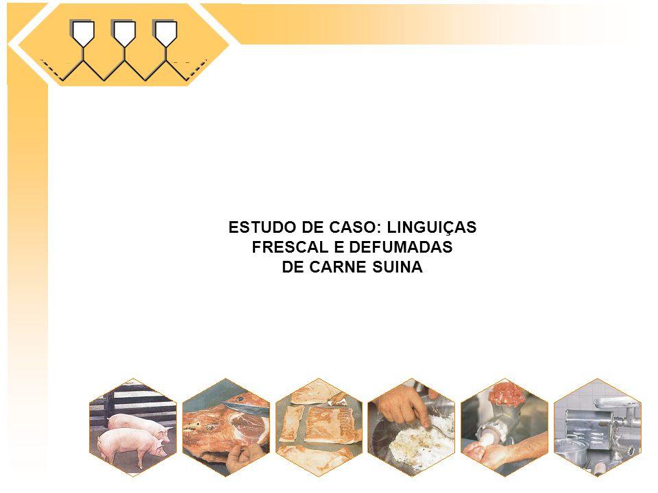 ESTUDO DE CASO: LINGUIÇAS FRESCAL E DEFUMADAS