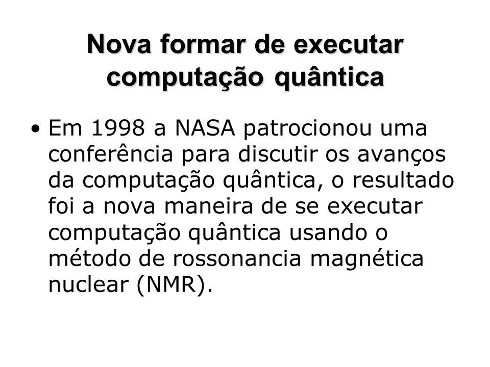 Nova formar de executar computação quântica