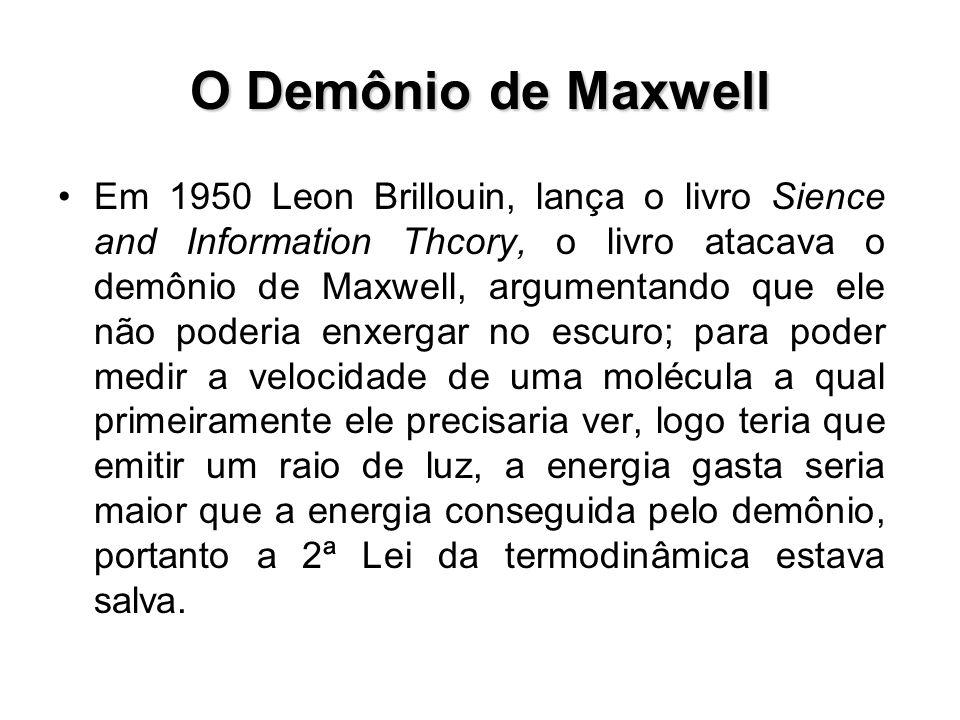 O Demônio de Maxwell