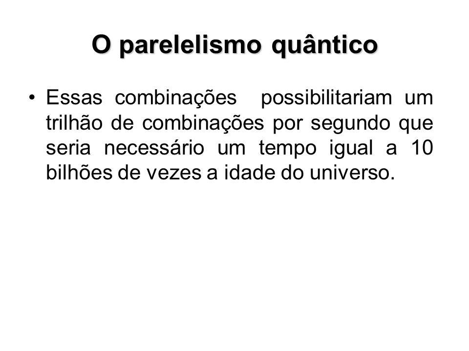 O parelelismo quântico