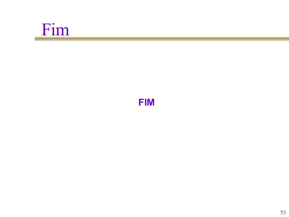 Fim FIM 53 53