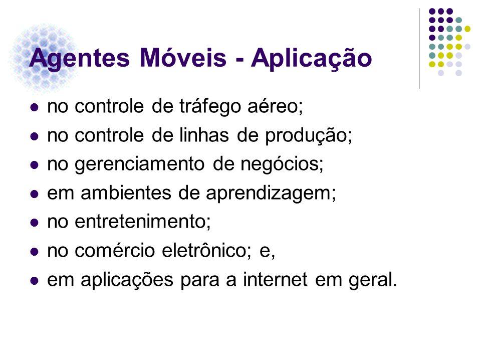 Agentes Móveis - Aplicação