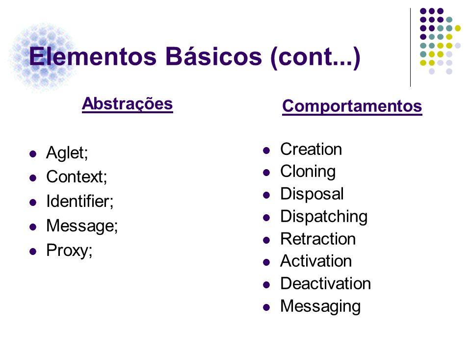 Elementos Básicos (cont...)