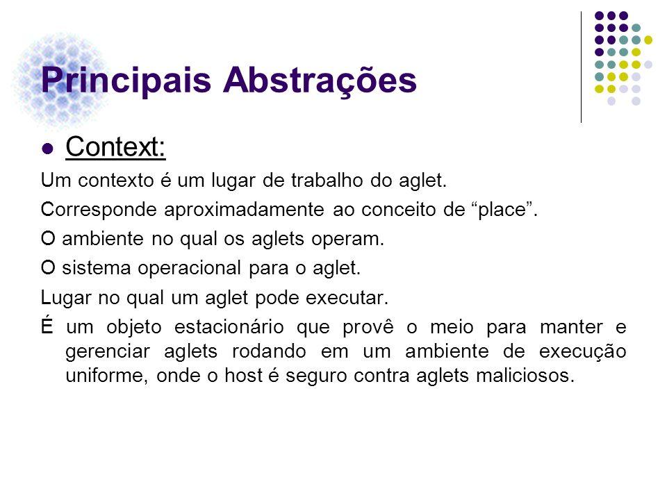 Principais Abstrações