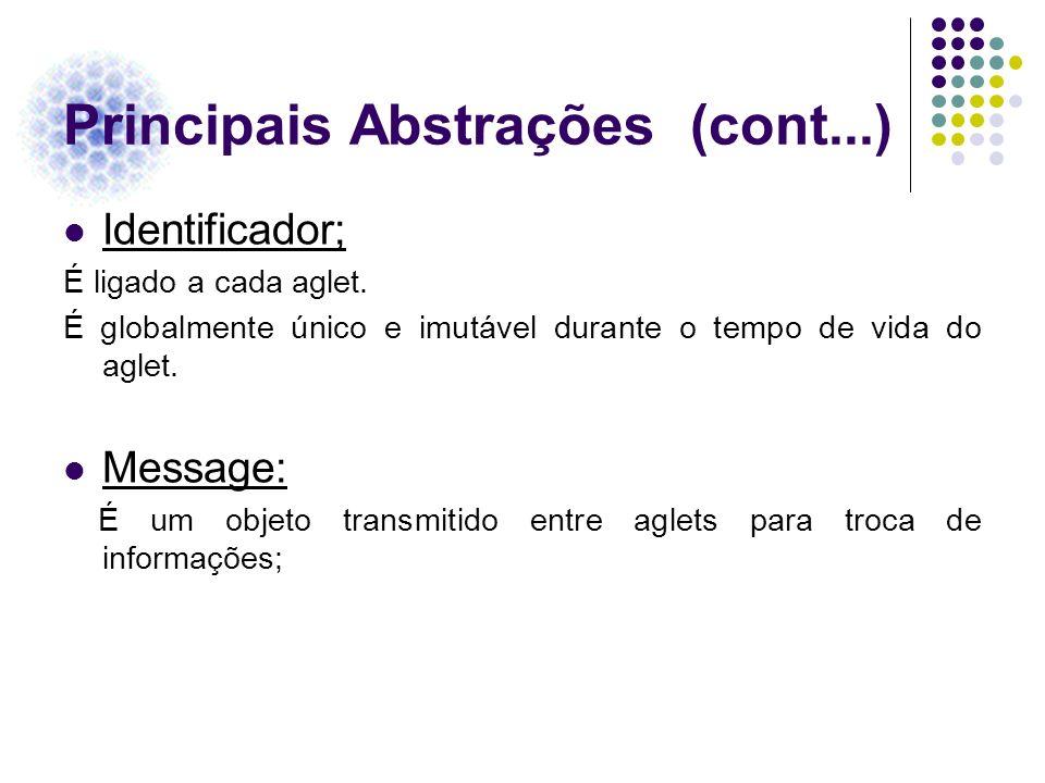 Principais Abstrações (cont...)