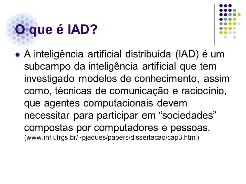 O que é IAD