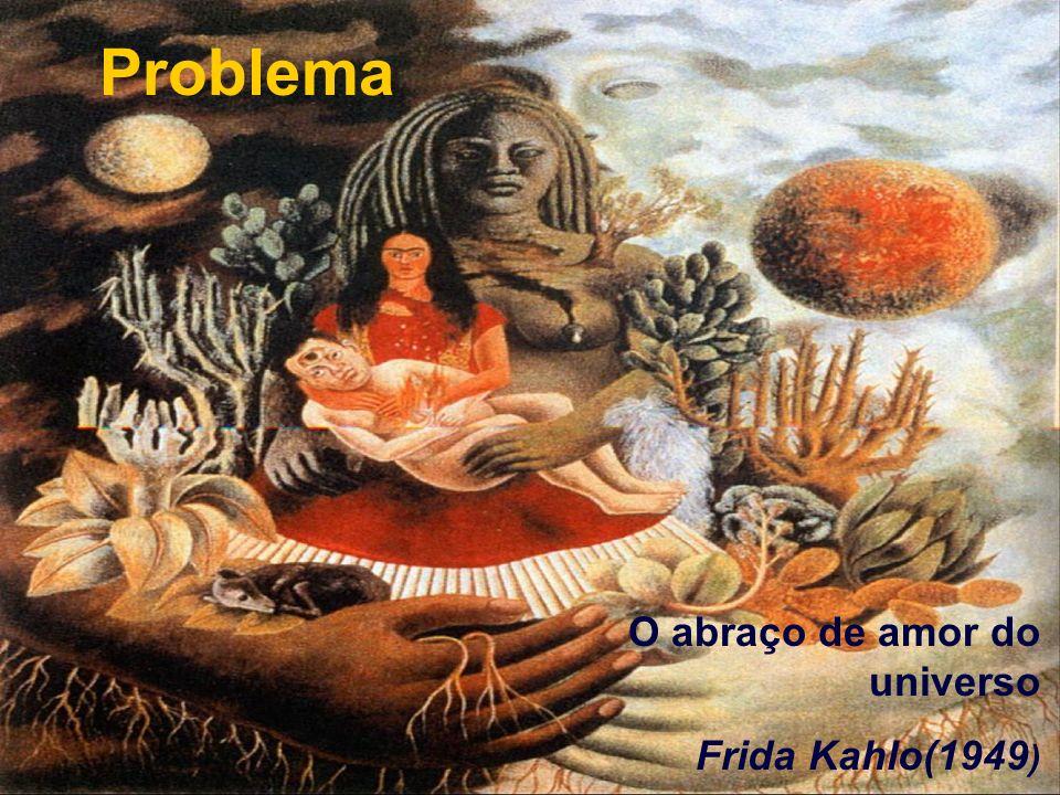 Problema O abraço de amor do universo Frida Kahlo(1949)