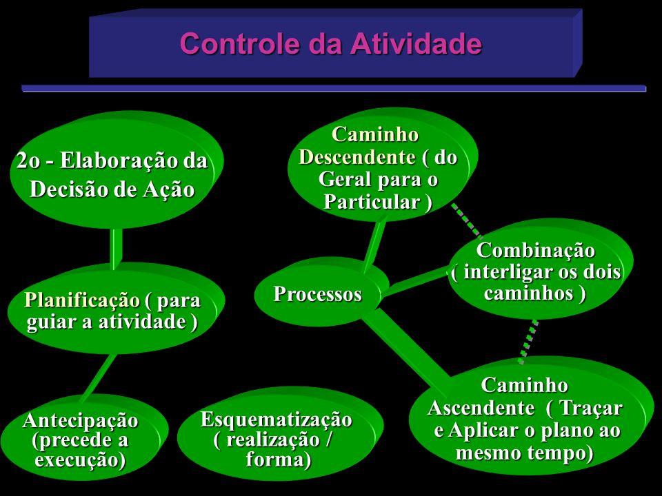 Controle da Atividade 2o - Elaboração da Decisão de Ação Caminho