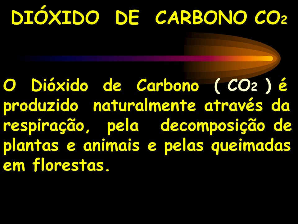 DIÓXIDO DE CARBONO CO2