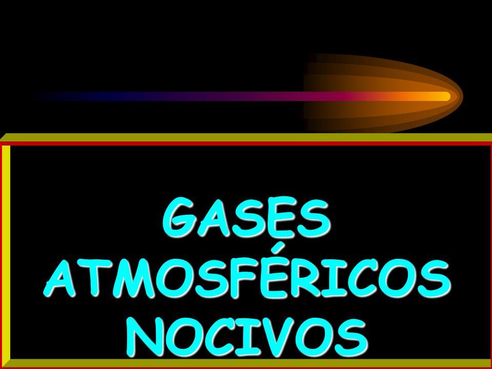 GASES ATMOSFÉRICOS NOCIVOS