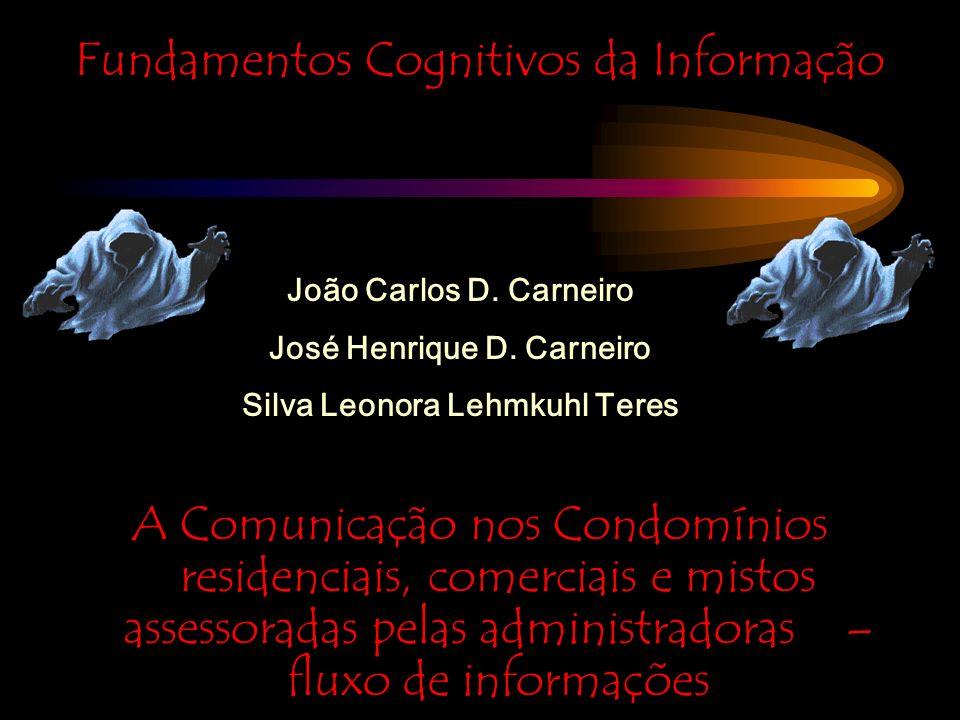 Fundamentos Cognitivos da Informação