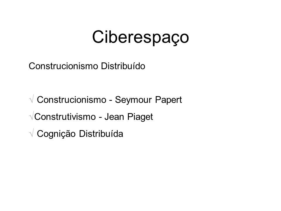 Ciberespaço Construcionismo Distribuído
