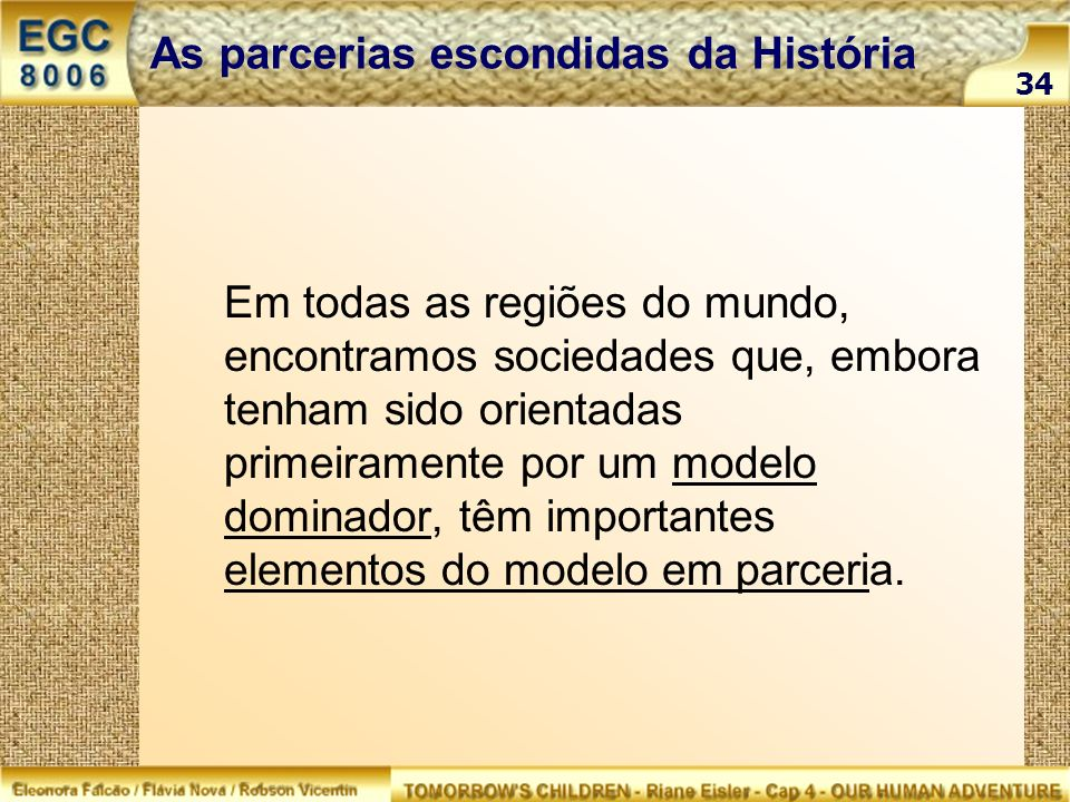 As parcerias escondidas da História