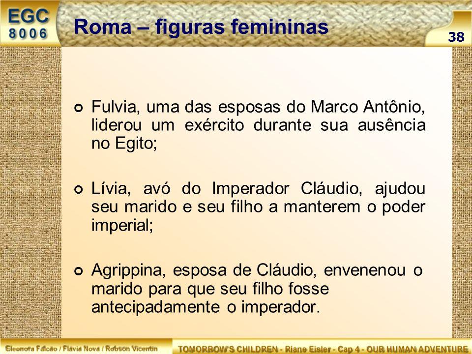 Roma – figuras femininas