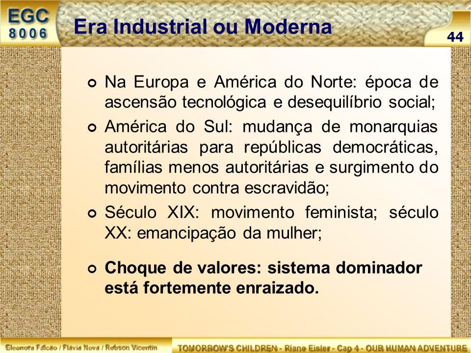 Era Industrial ou Moderna