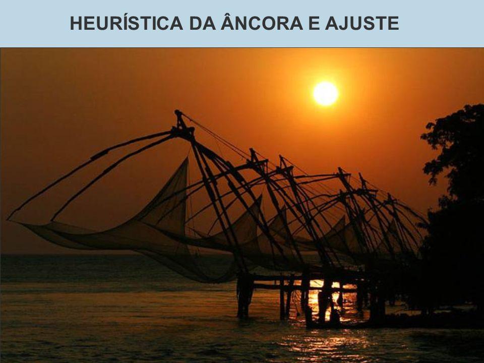 HEURÍSTICA DA ÂNCORA E AJUSTE