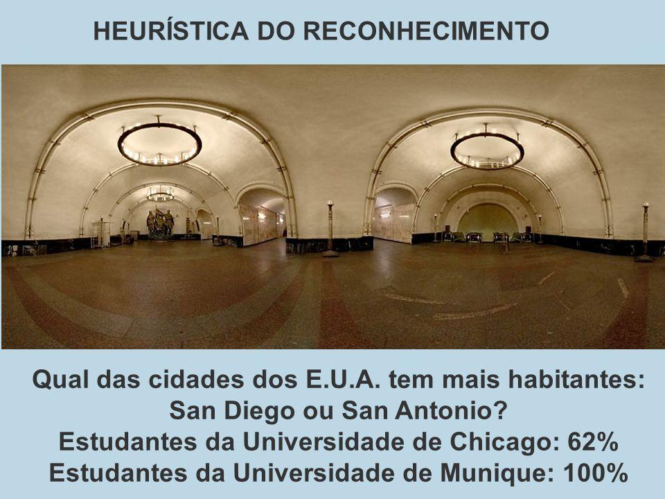 HEURÍSTICA DO RECONHECIMENTO