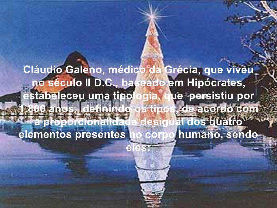 Cláudio Galeno, médico da Grécia, que viveu no século II D. C