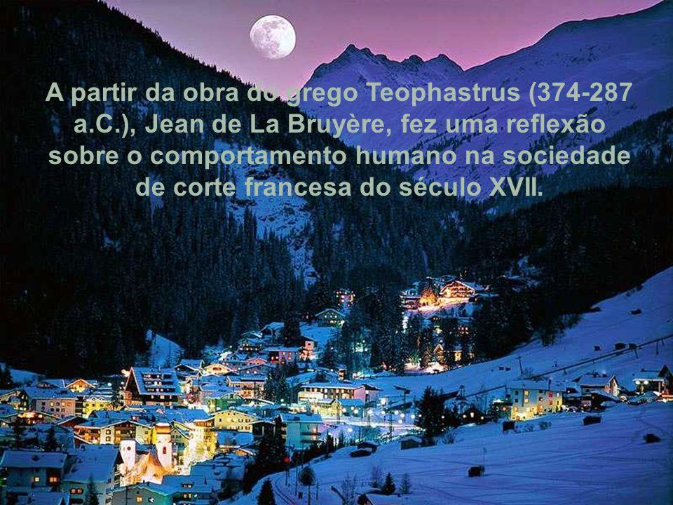A partir da obra do grego Teophastrus (374-287 a. C