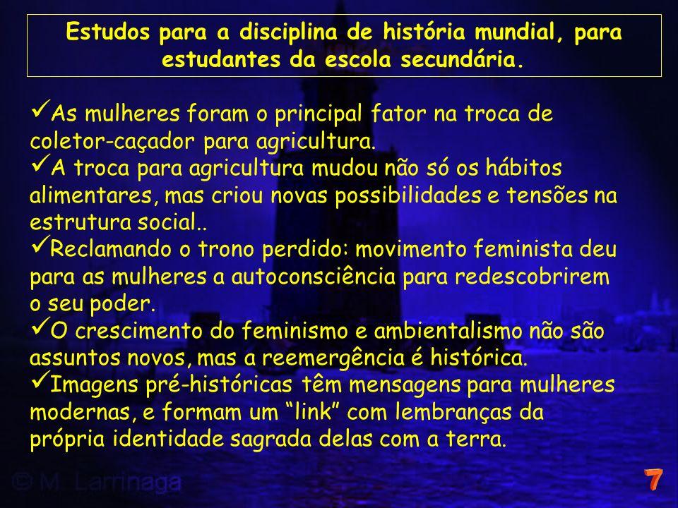 Estudos para a disciplina de história mundial, para estudantes da escola secundária.