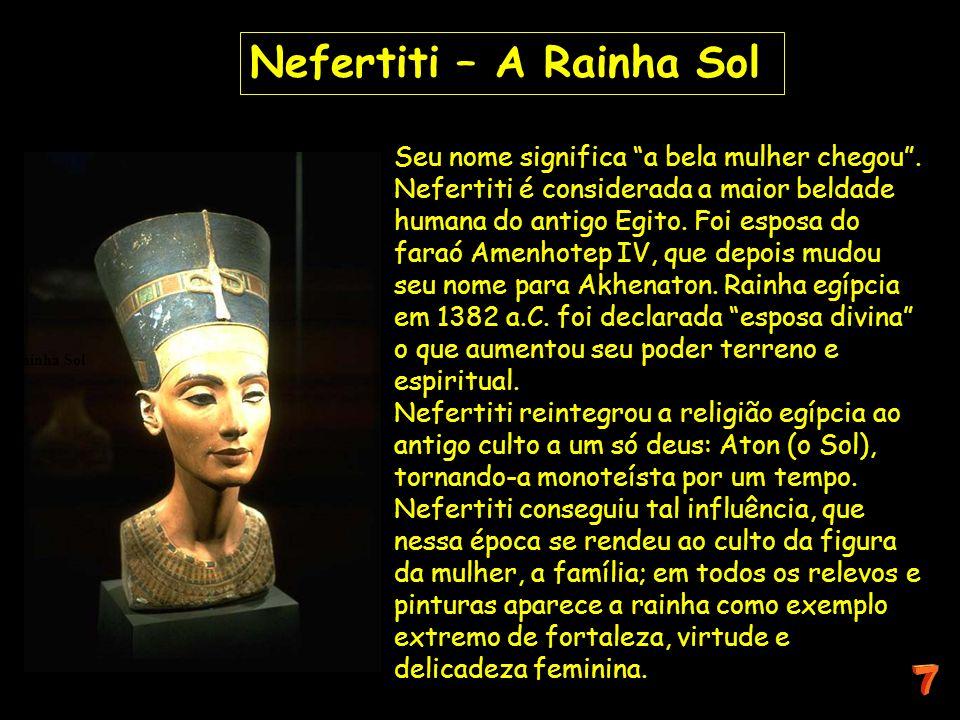 Nefertiti – A Rainha Sol