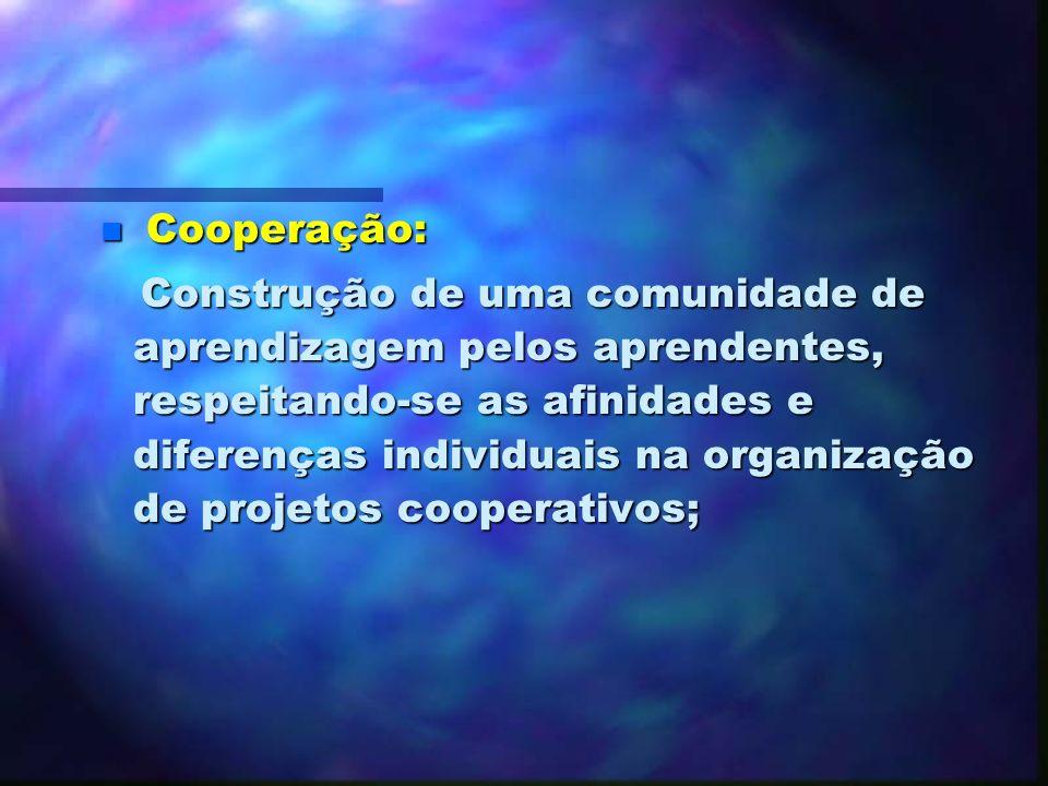 Cooperação: