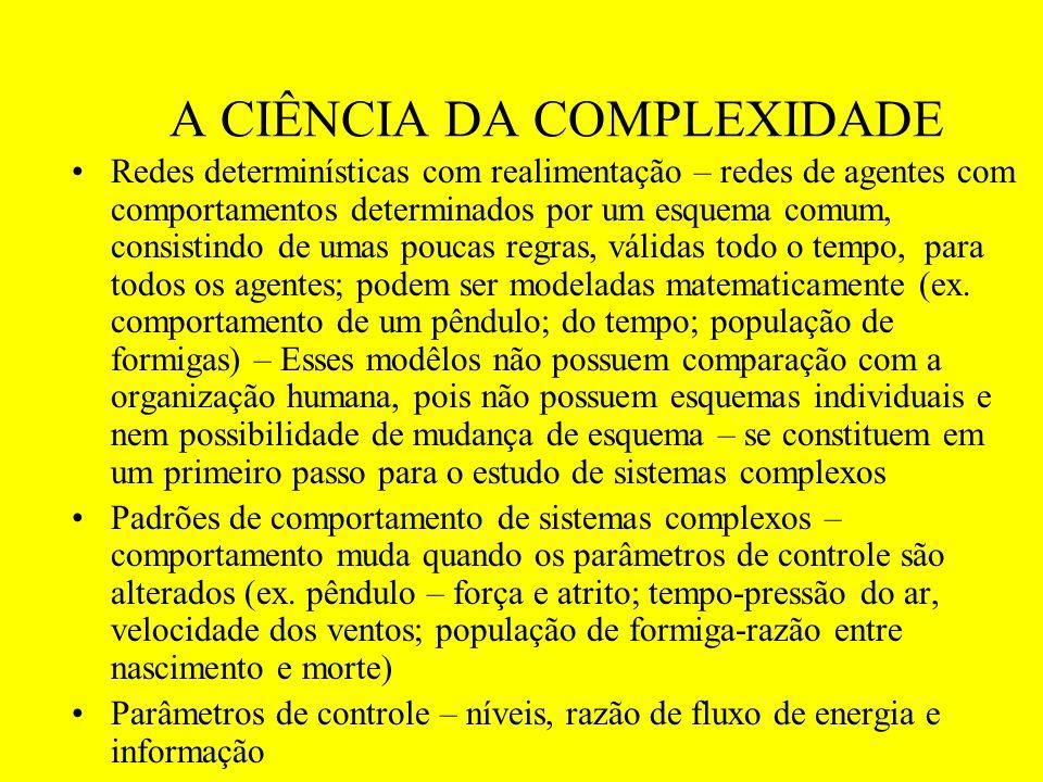 A CIÊNCIA DA COMPLEXIDADE