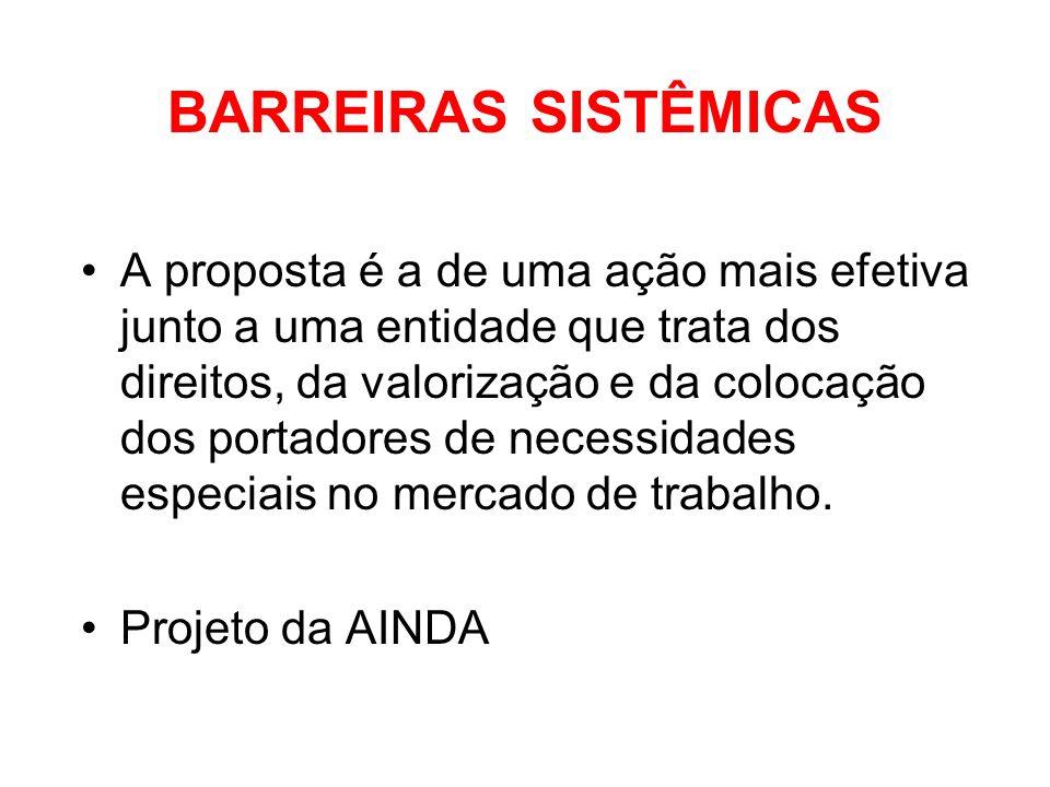 BARREIRAS SISTÊMICAS