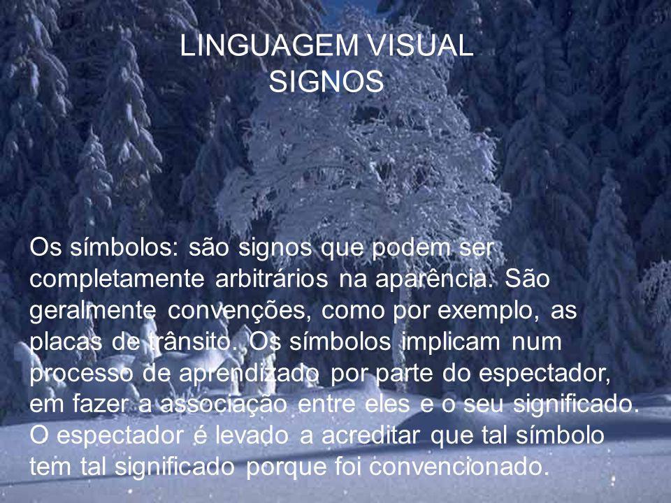 LINGUAGEM VISUAL SIGNOS
