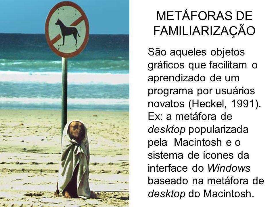 METÁFORAS DE FAMILIARIZAÇÃO
