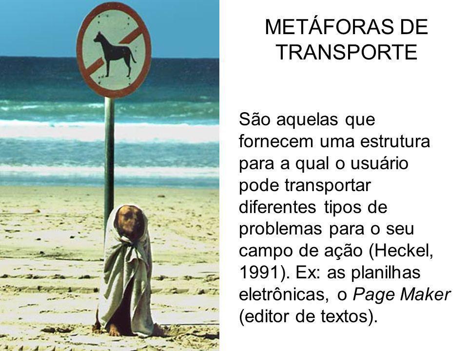 METÁFORAS DE TRANSPORTE