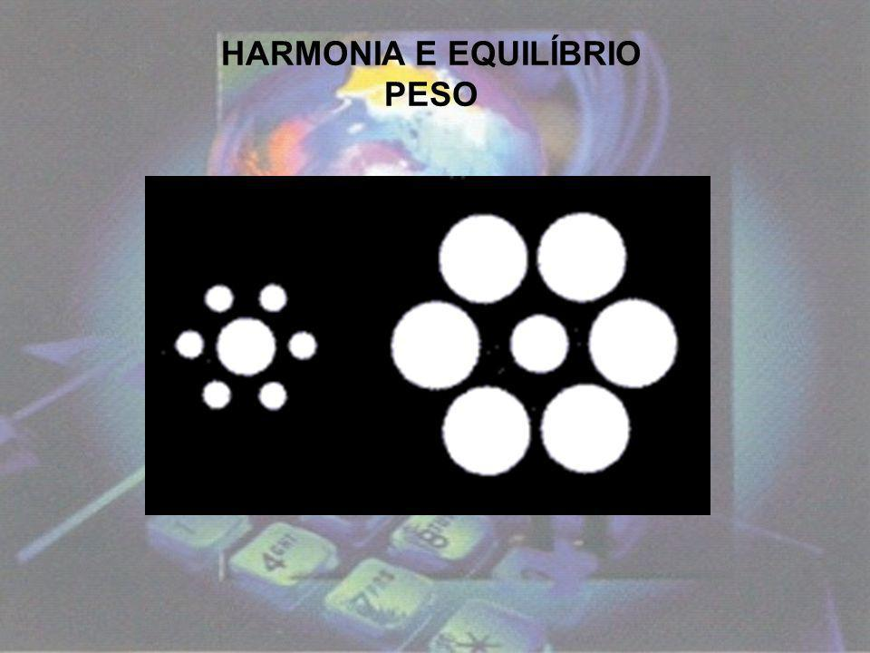 HARMONIA E EQUILÍBRIO PESO