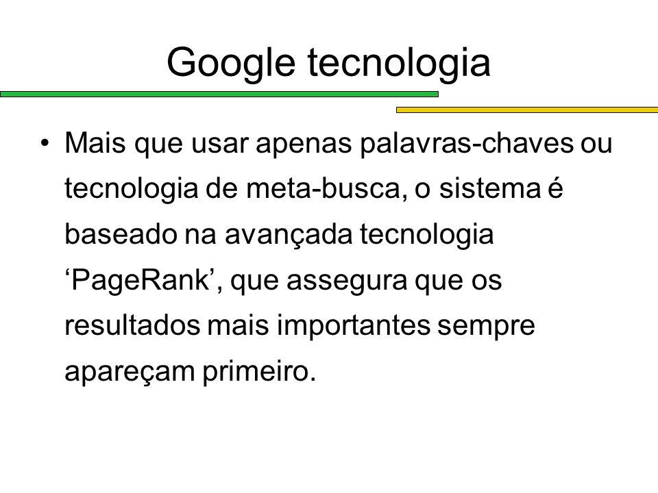 Google tecnologia