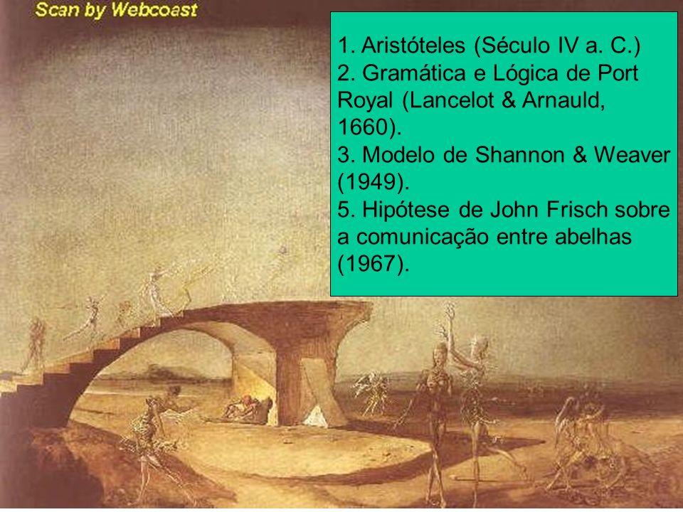1. Aristóteles (Século IV a. C.)