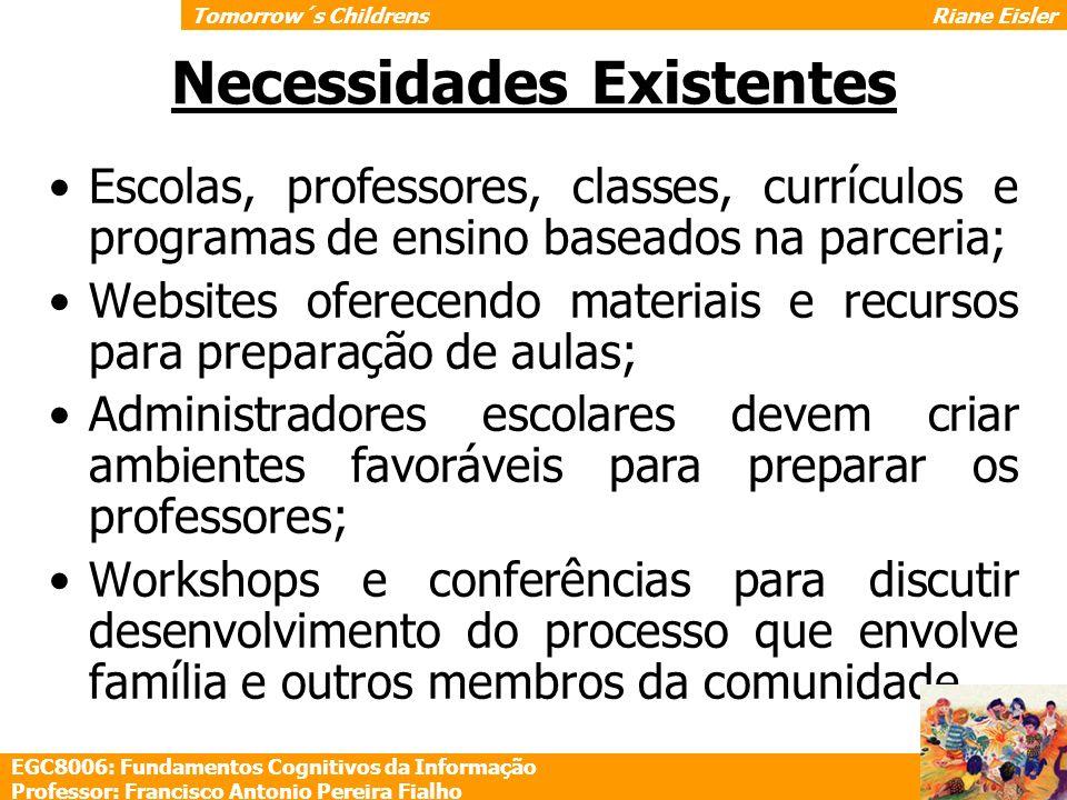 Necessidades Existentes