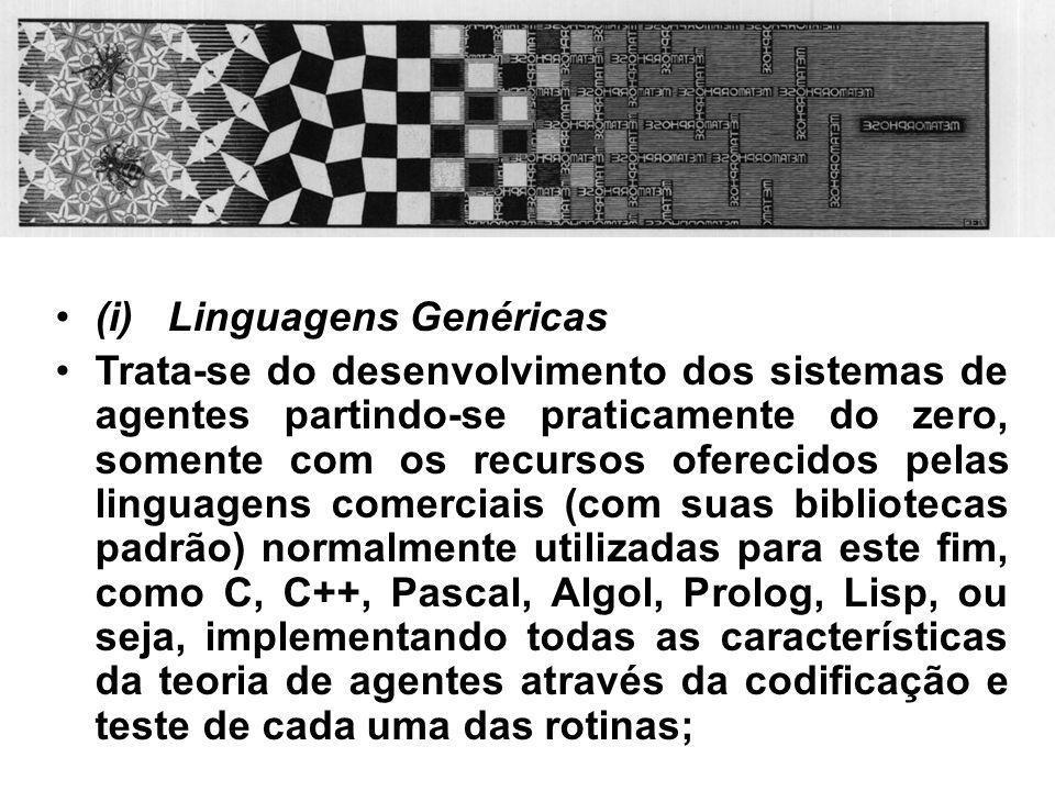 (i) Linguagens Genéricas
