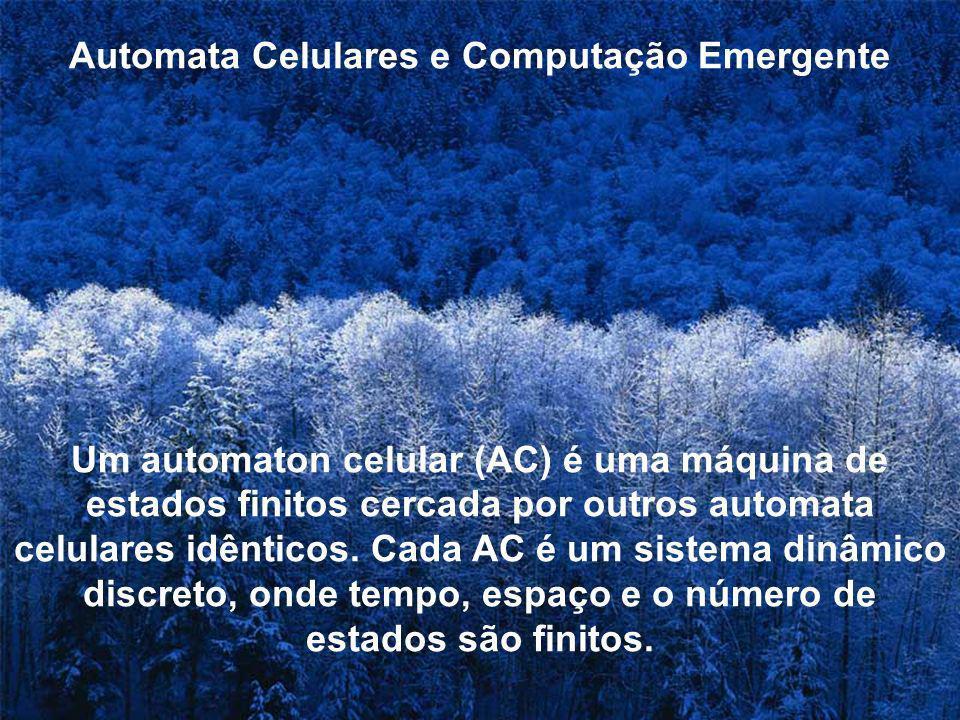 Automata Celulares e Computação Emergente